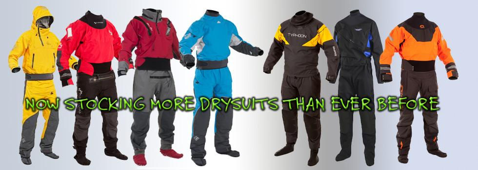 More Drysuits than ever