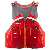 NRS cVest Mesh Back PFD RED + LIME