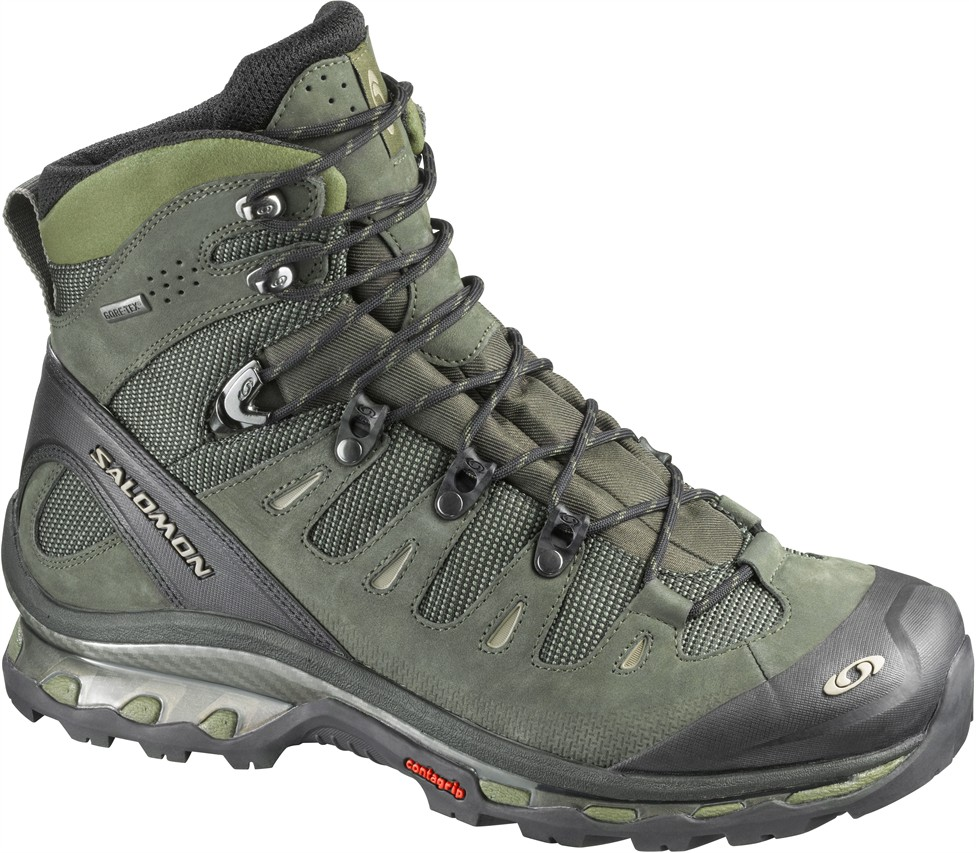 Salomon 4d Gtx Hiking Boot Uk8 Wet And Wild Hull