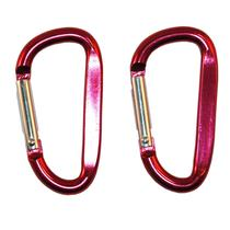 Alloy Carabiner Small Red